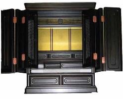 仏壇,小型,高級,黒檀